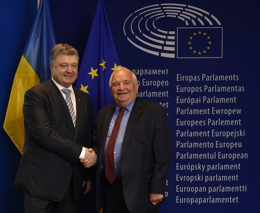 Встреча Петра Порошенко и Жозефа Доля
