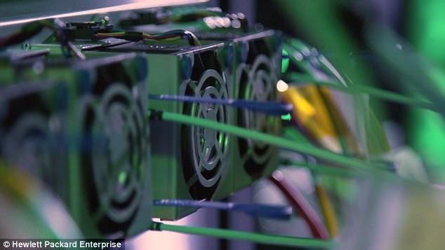 Hewlett Packard Enterprise презентовала прототип компьютера с рекордным объемом памяти_1