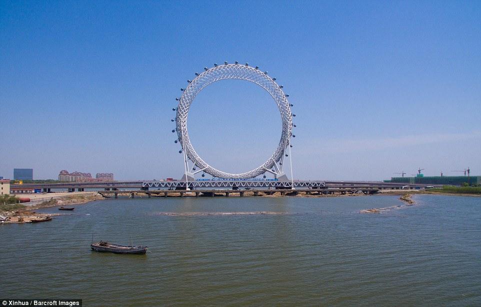Колесо обозрения в Китае_3