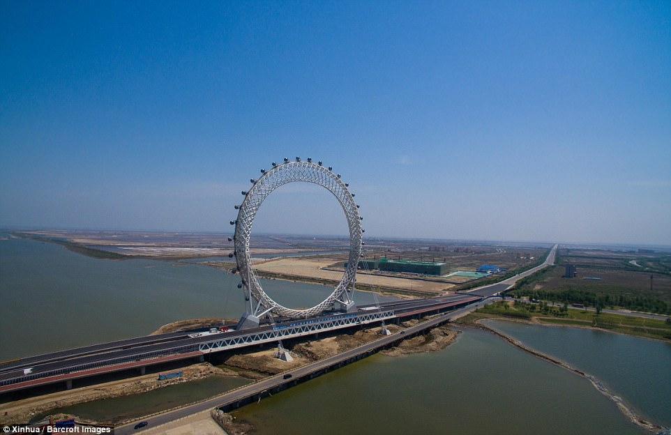 Колесо обозрения в Китае_5