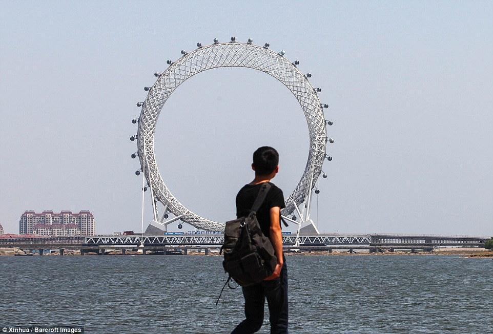 Колесо обозрения в Китае_6