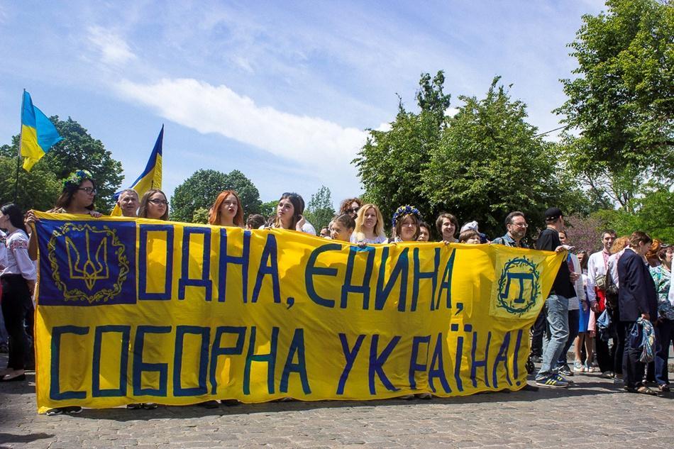 В Одессе прошел 10-й Мегамарш в вышиванках_3
