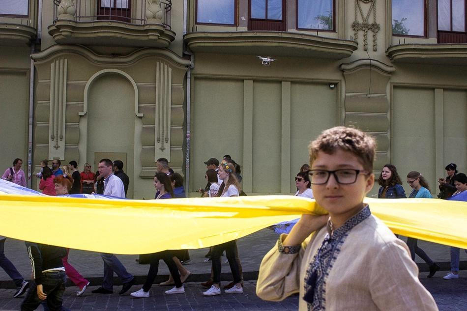 В Одессе прошел 10-й Мегамарш в вышиванках_5