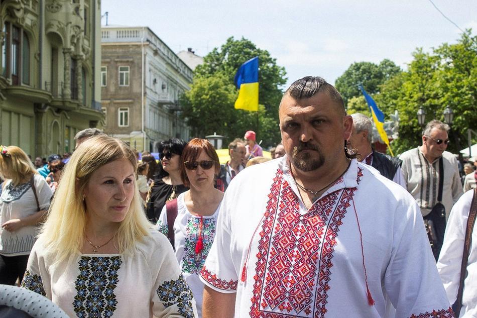 В Одессе прошел 10-й Мегамарш в вышиванках_7