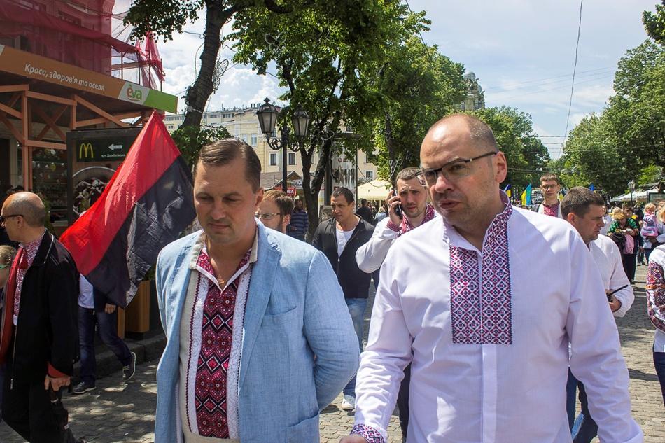 В Одессе прошел 10-й Мегамарш в вышиванках_8