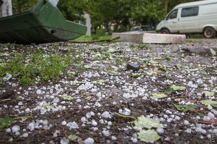 Сильнейший ливень с градом и штормовым ветром обрушился на Одессу_3