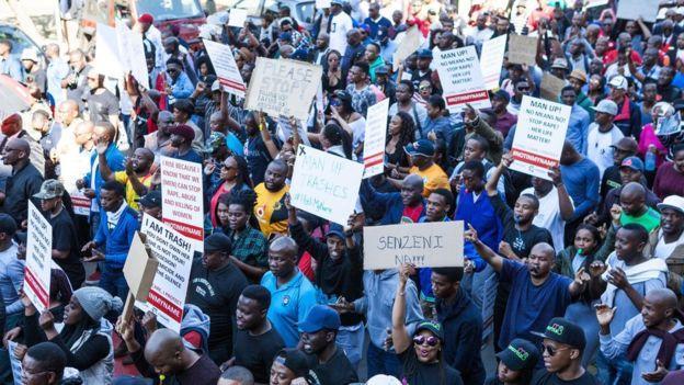 Протест в ЮАР_2