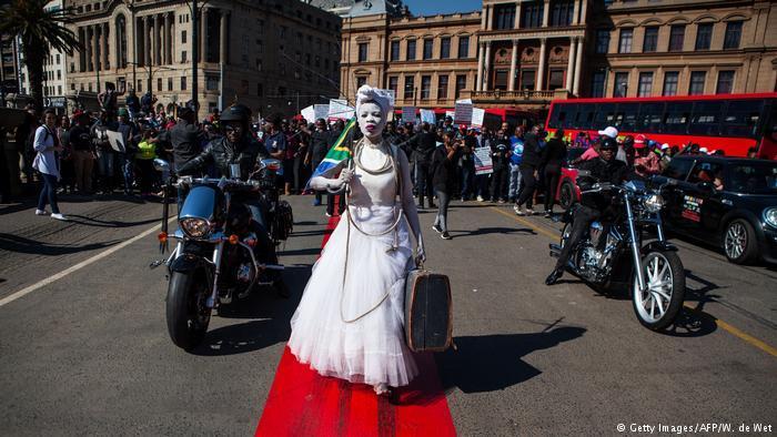 Протест в ЮАР_1