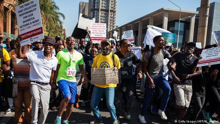 Протест в ЮАР_4