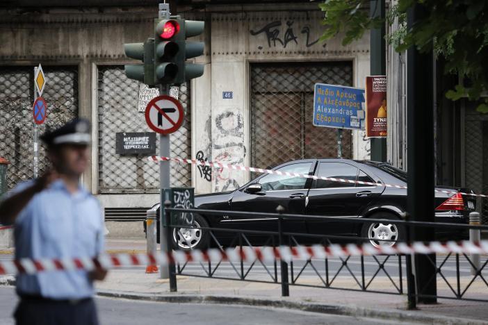 В Греции взорвали авто экс-премьера_1