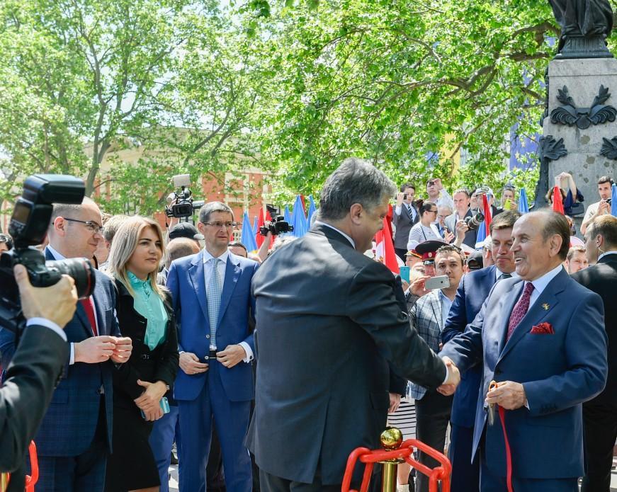 Петр Порошенко открыл Стамбульский парк_7