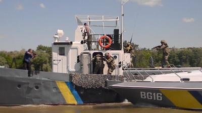 Украина и Молдова провели совместные антитеррористические тактико-специальные учения_6