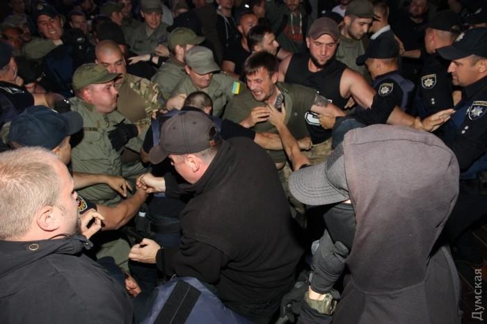 В Одессе сорвали концерт Лободы_12