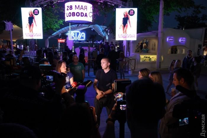 В Одессе сорвали концерт Лободы_3