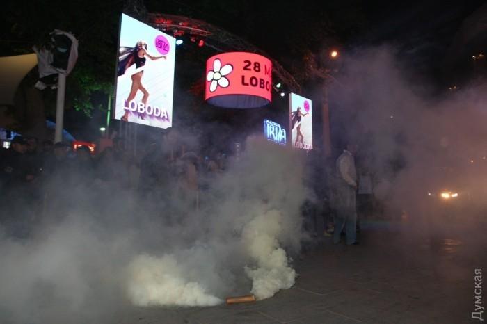 В Одессе сорвали концерт Лободы_9