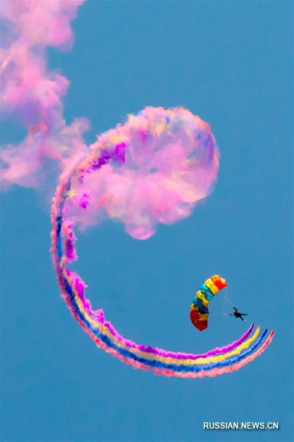 В провинции Хэнань проходит Аньянский фестиваль любительской авиации-2017