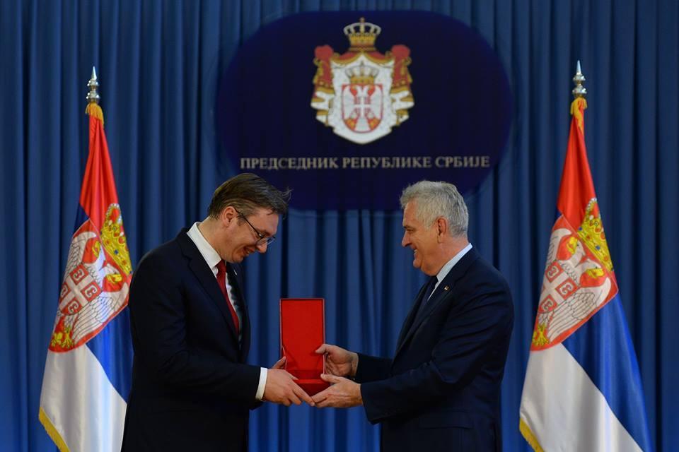 Новый президент Сербии Александр Вучич принял присягу