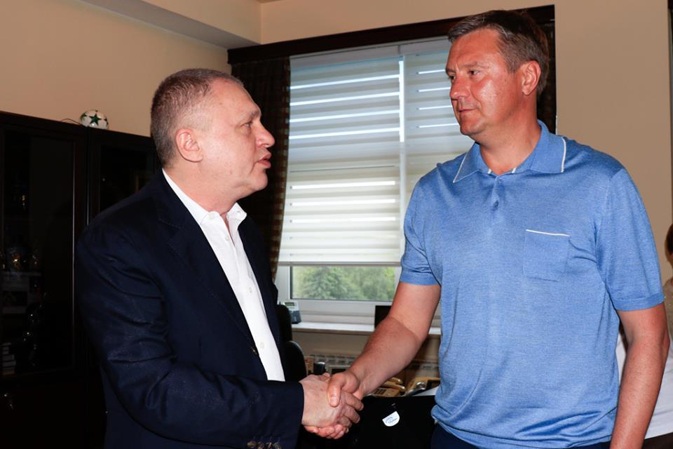 Игорь Суркис и Александр Хацкевич