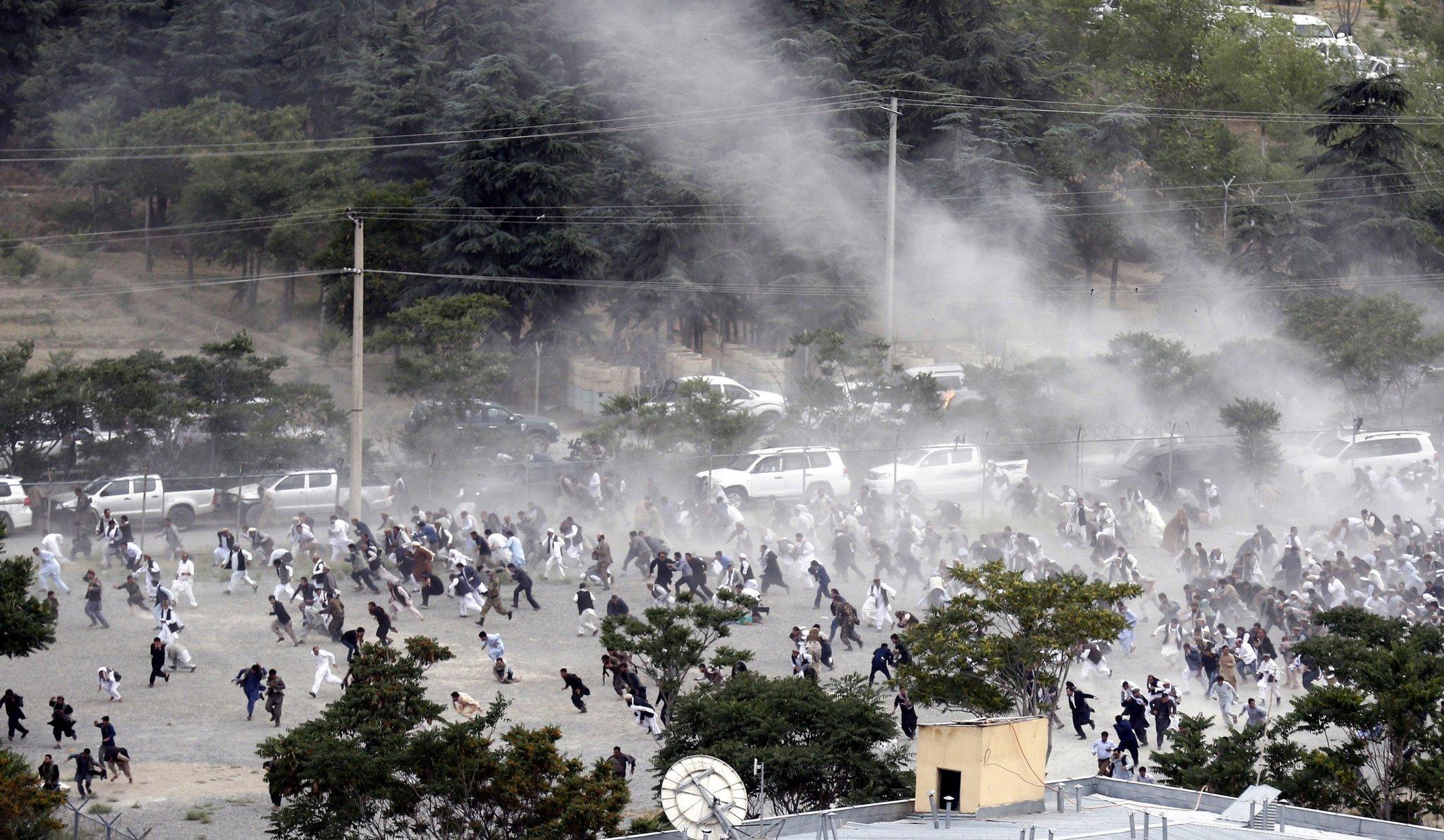 Взрывы в Кабуле