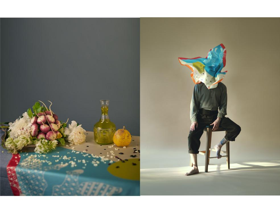 Капсульная коллекция шелковых платков-хусток