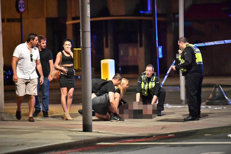 Атака в Лондоне