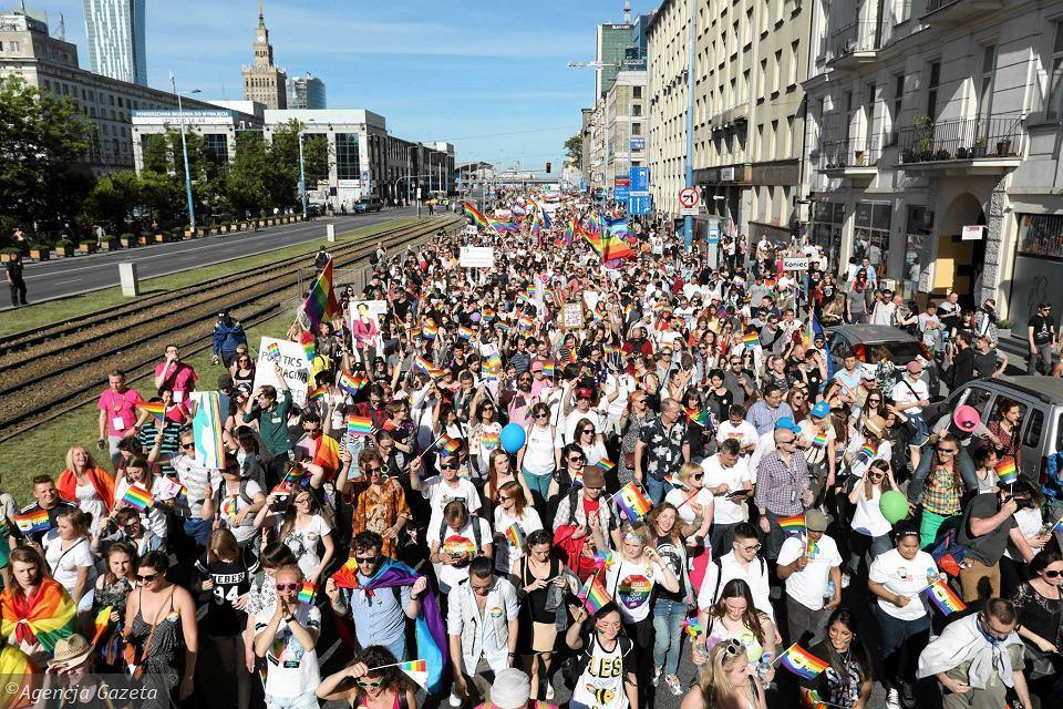 Марш за права ЛГБТ в Варшаве_1