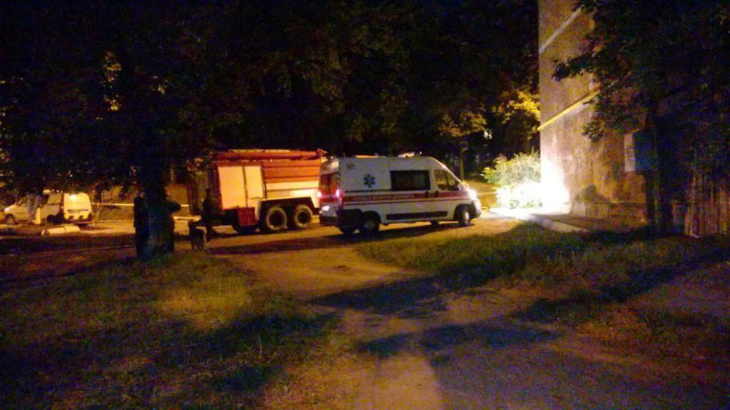 Взрыв в жилом доме на проспекте Мазепы в Вышгороде