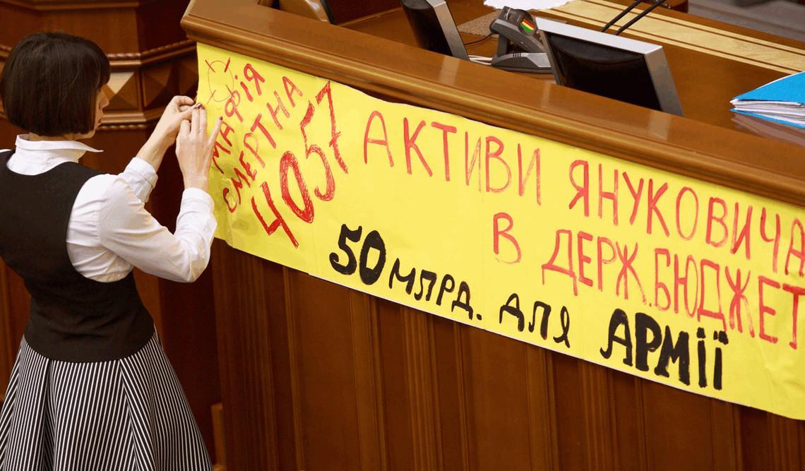 Законопроект об управлении конфискованными активами