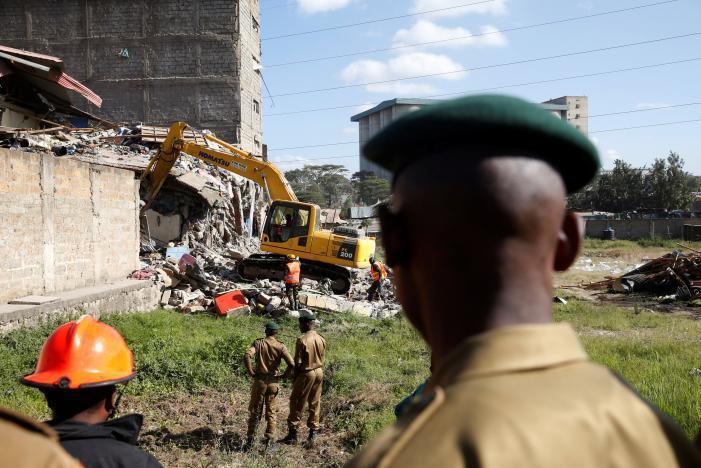 В Найроби обрушился 7-этажный дом