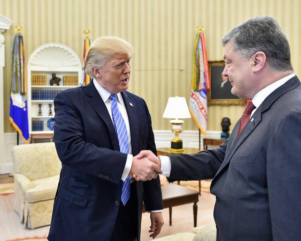 Встреч Петра Порошенко и Дональда Трампа