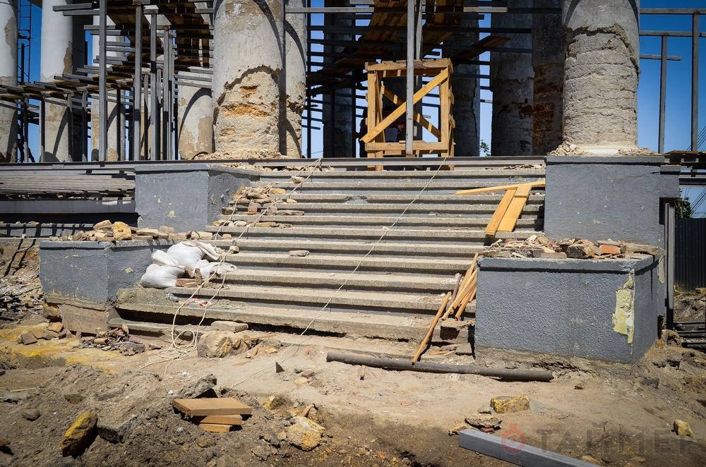 Реставрация Воронцовского дворца в Одессе