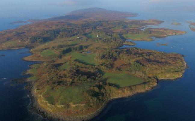 Остров Улва, выставленный на продажу