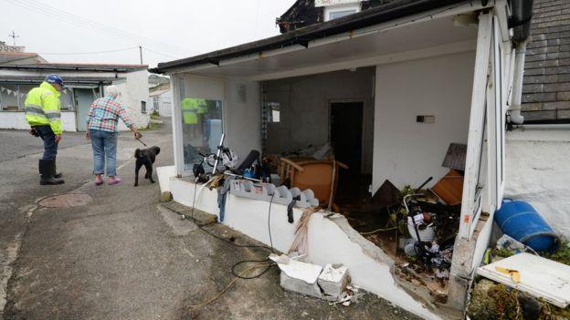 Наводнение на юге Великобритании