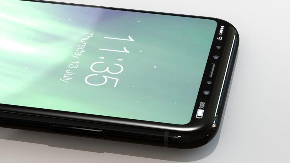 Финальная версия дизайна смартфона iPhone 8