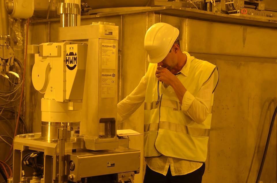 Испытания хранилища ядерных отходов на ЧАЭС