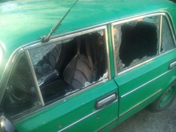 Результаты обстрела в Донецкой области