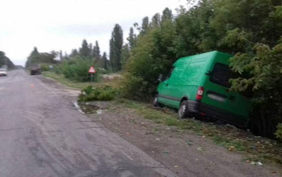 Тройное ДТП в Полтавской области