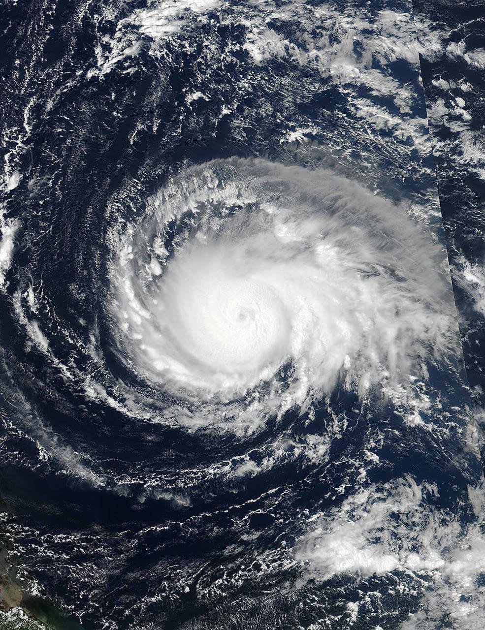 Ураган «Ирма», приближающийся к побережью США