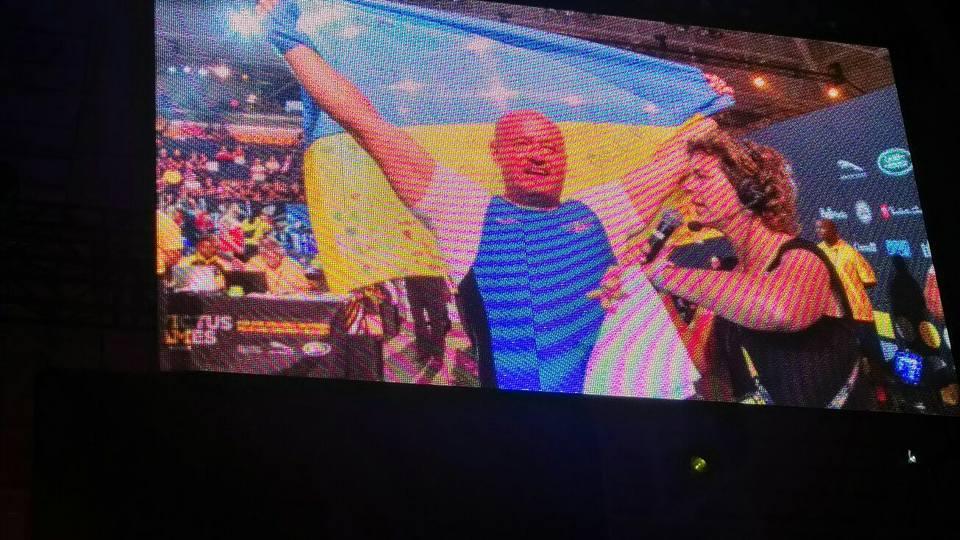 Капитан сборной Украины выиграл золотую медаль в гребле на тренажерах