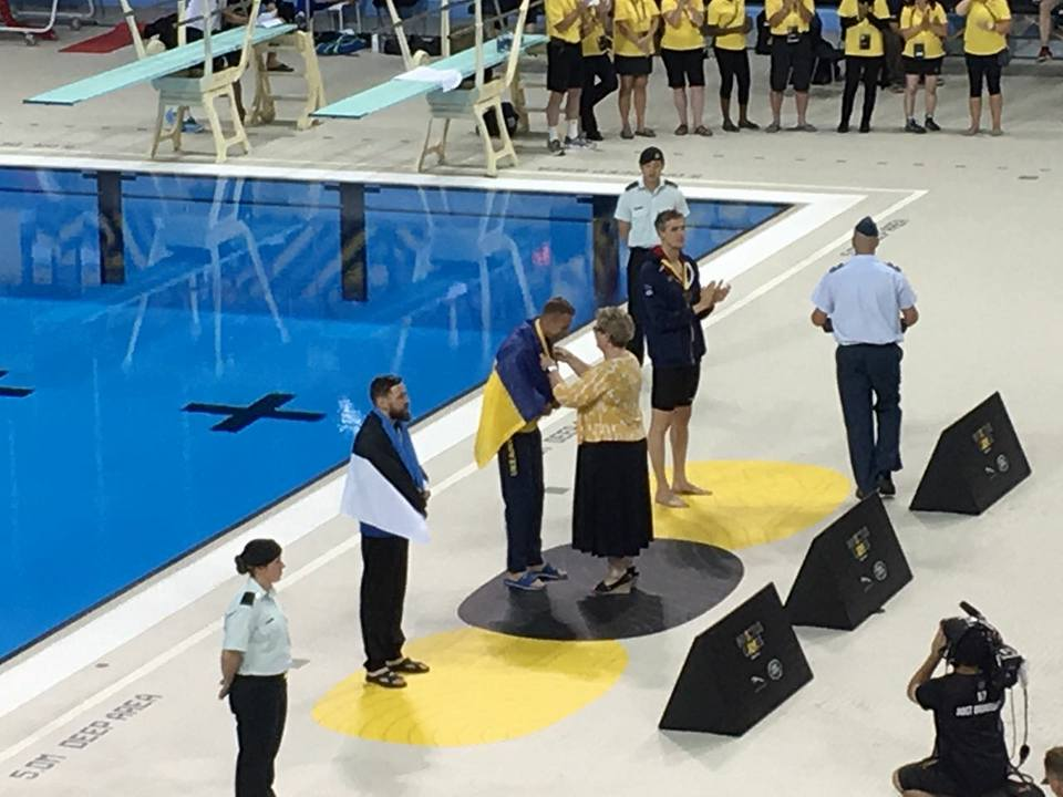 28-летний военнослужащий Министерства обороны Украины Павел Будаевский выиграл 4 медали