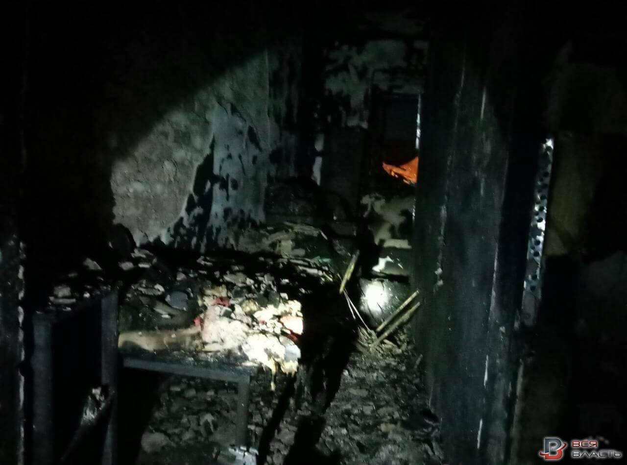 Пожар в одном из хостелов, расположенных в Запорожье