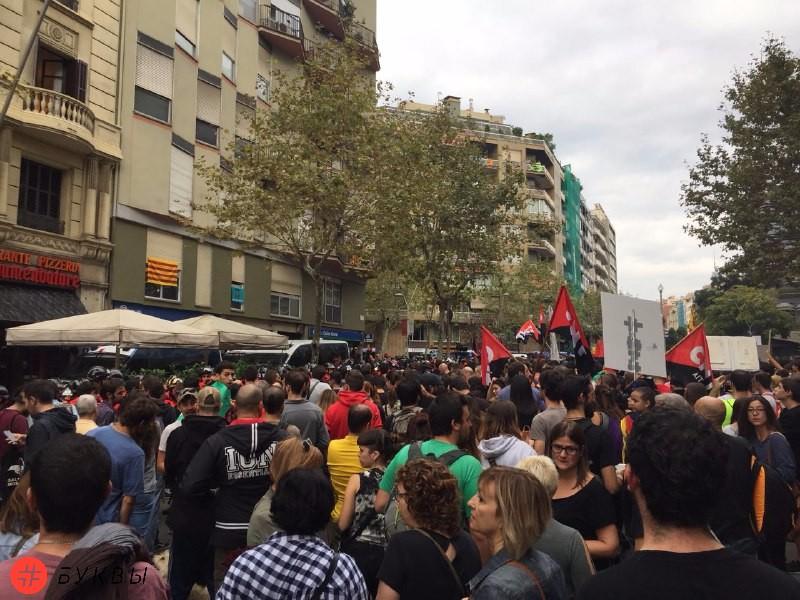 Забастовка в Каталонии_02