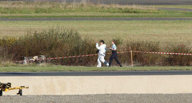 На юге Франции разбился легкомоторный самолет