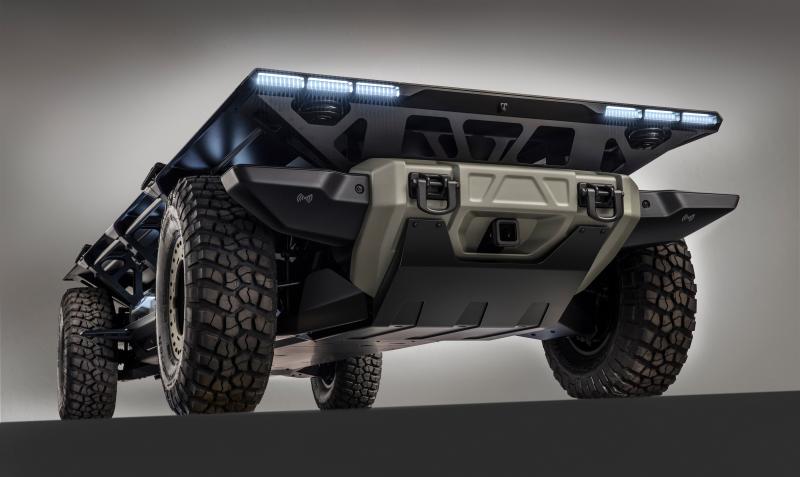 В General Motors презентовали концепт беспилотной платформы SURUS