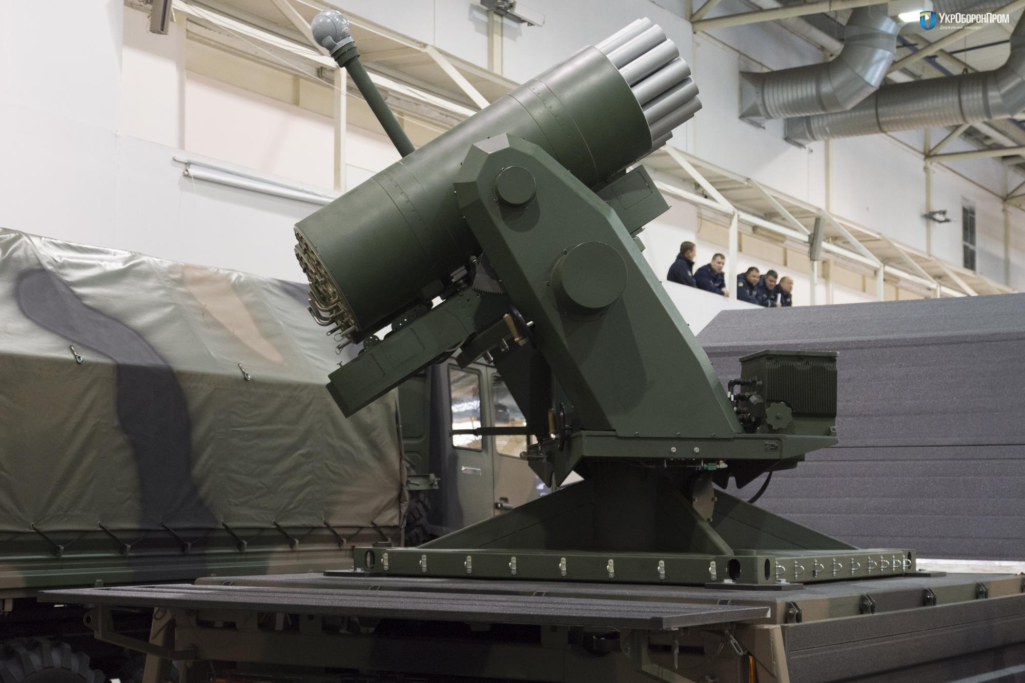 Система залпового огня ZRN-01 Stokrotka