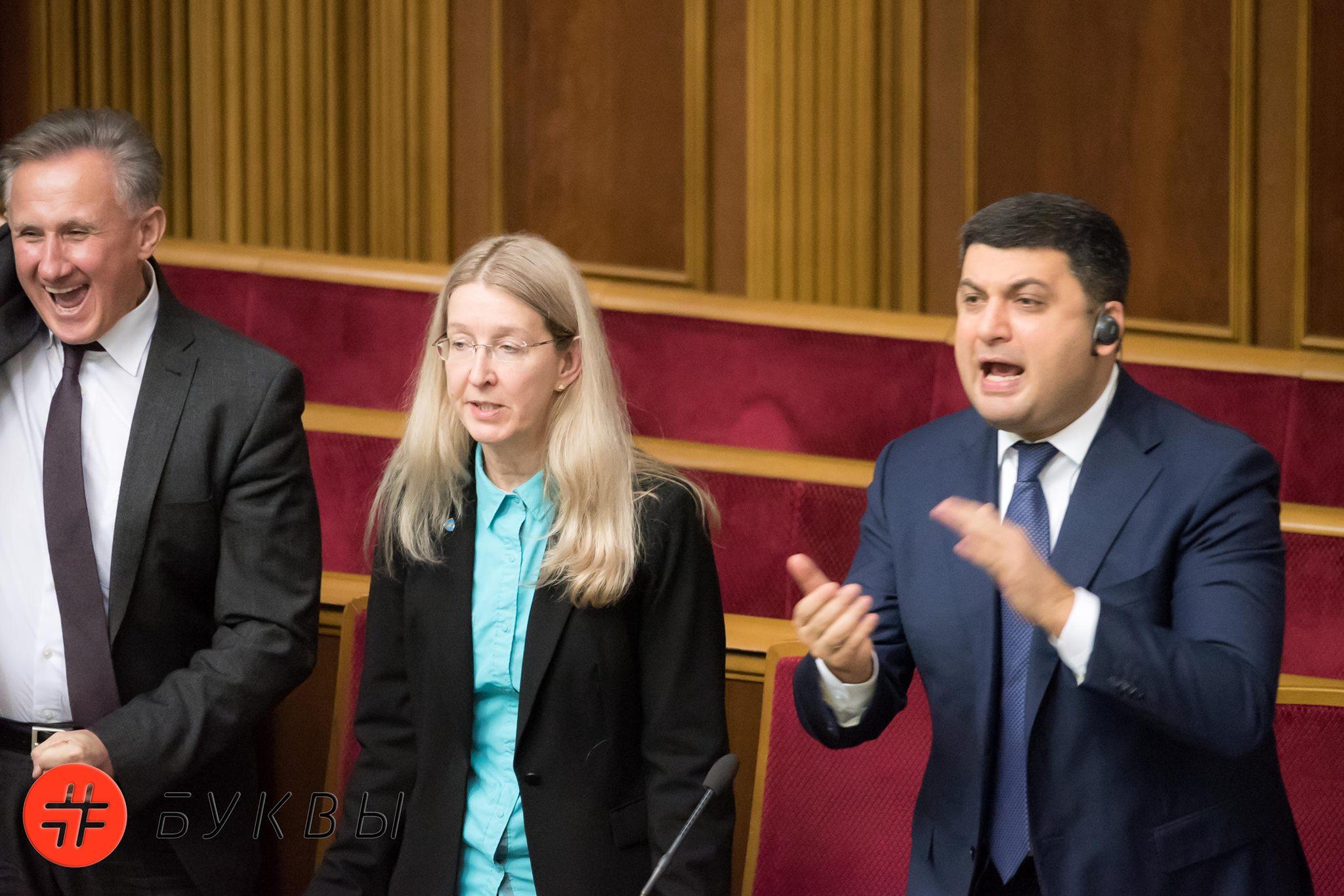 Члены Правительства в Верховной Раде