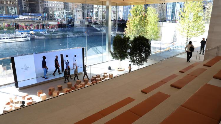 Новый магазин Apple на северном берегу Чикаго