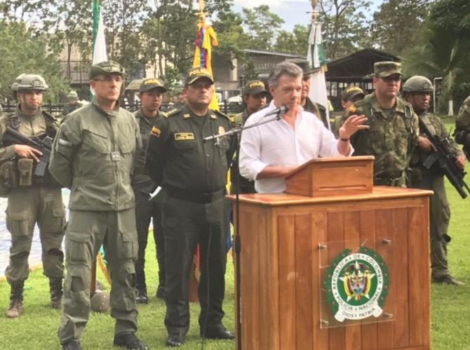 В Колумбии провели спецоперацию