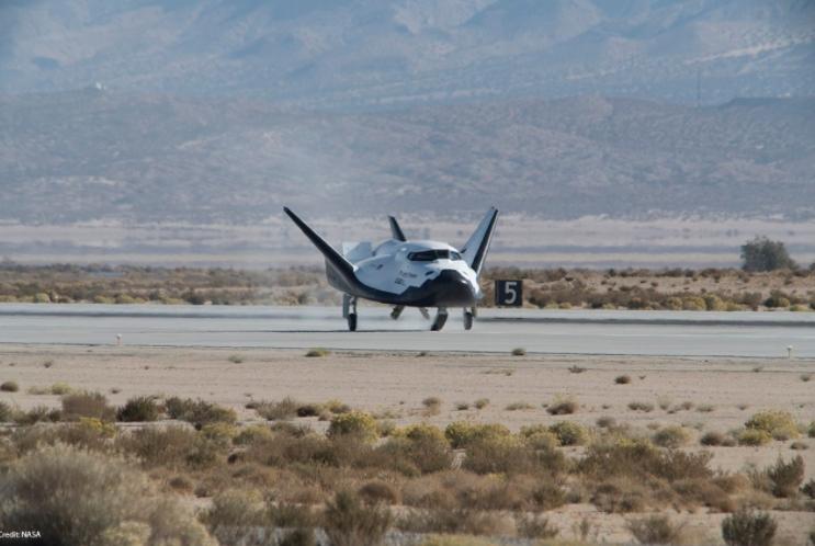 Испытания космического корабля Dream Chaser