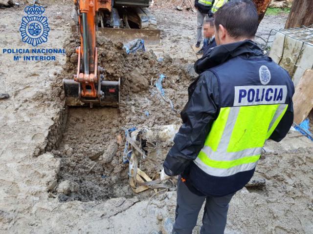 В Испании обнаружили крупную партию кокаина